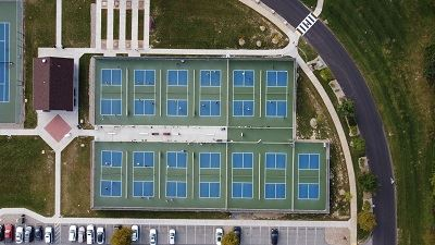 img.Overhead view of 13 courts 2020