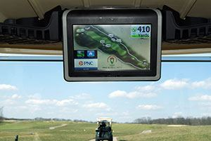 Golf Cart GPS Navigation