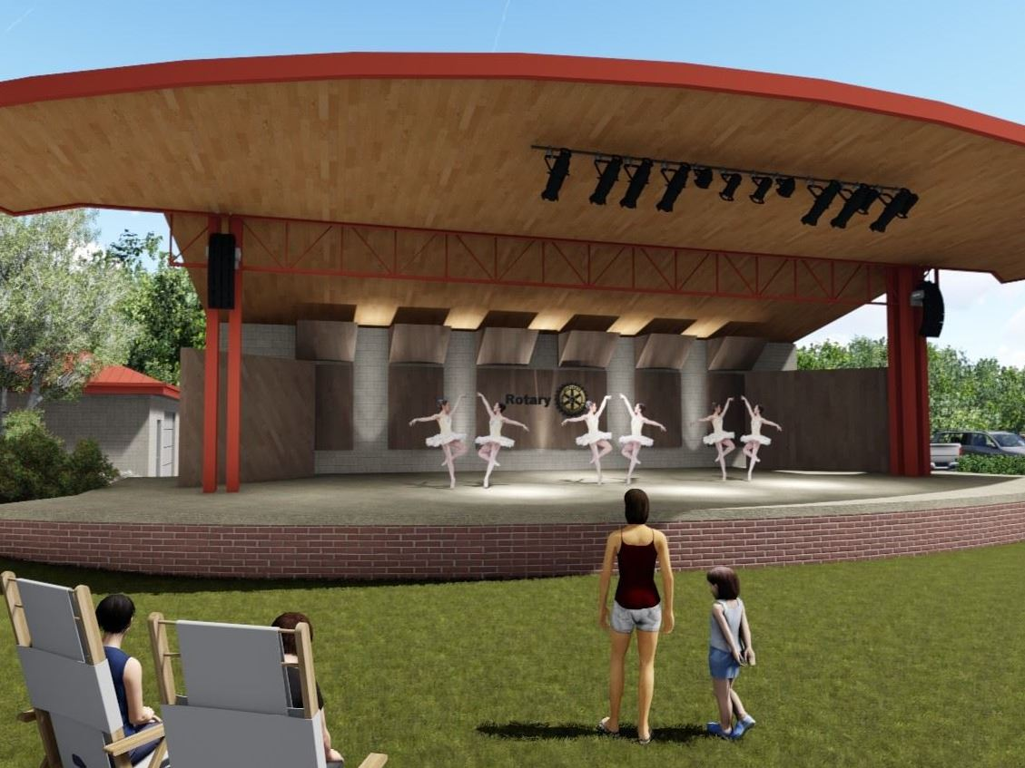 Rotary Amphitheater Rendering